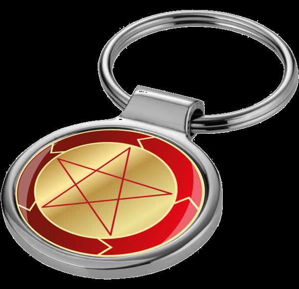 Magischer Schlüssel zu deiner Kraft - Der Schlüsselanhänger TRANSFAIRMATION mit Doming